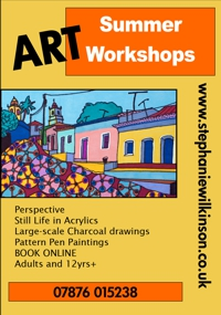 Summer 2014 Art Workshops